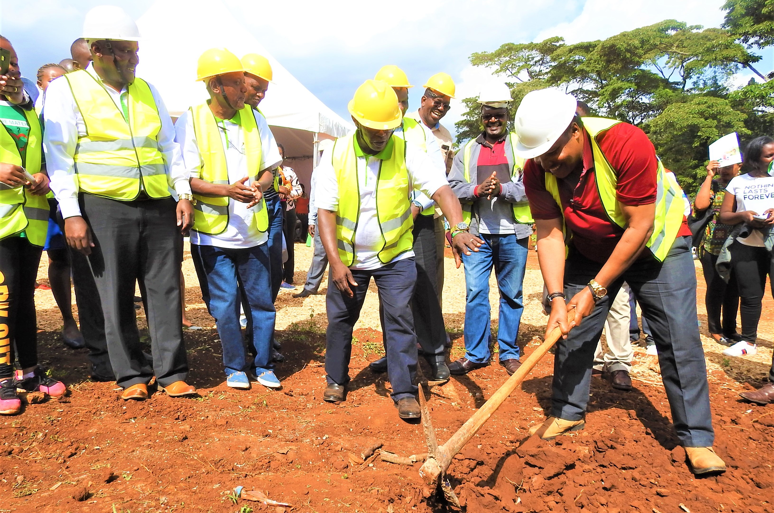 KITISURU SPUR GROUND BREAKING